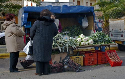 Tipico mercatino agricolo